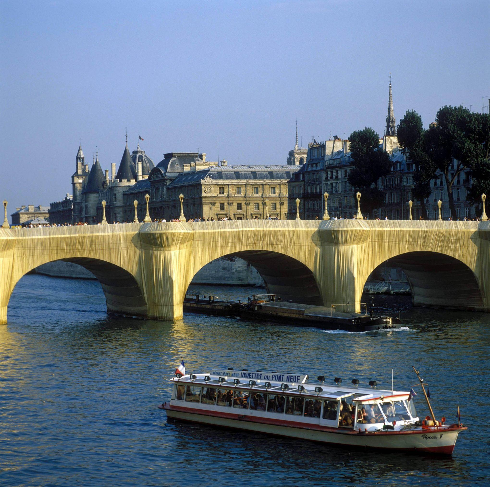 """Résultat de recherche d'images pour """"pont neuf christo"""""""