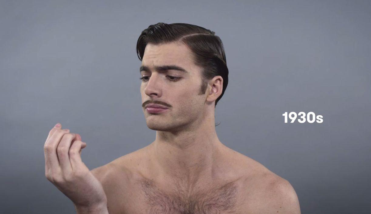 coupe de cheveux homme 1940
