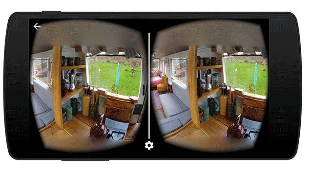 google lance une application pour prendre des photos en r alit virtuelle. Black Bedroom Furniture Sets. Home Design Ideas