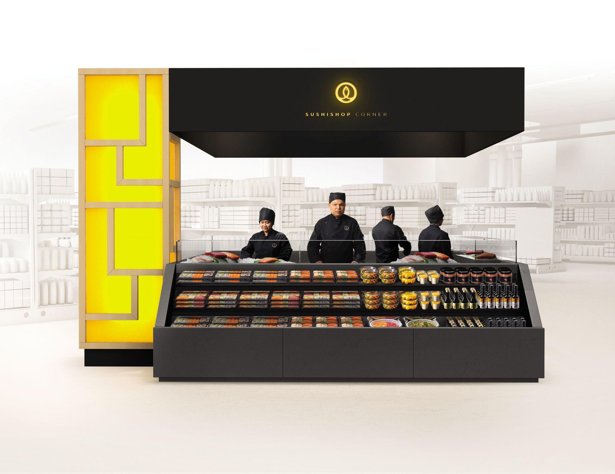 sushi shop n gocie son entr e chez leclerc. Black Bedroom Furniture Sets. Home Design Ideas