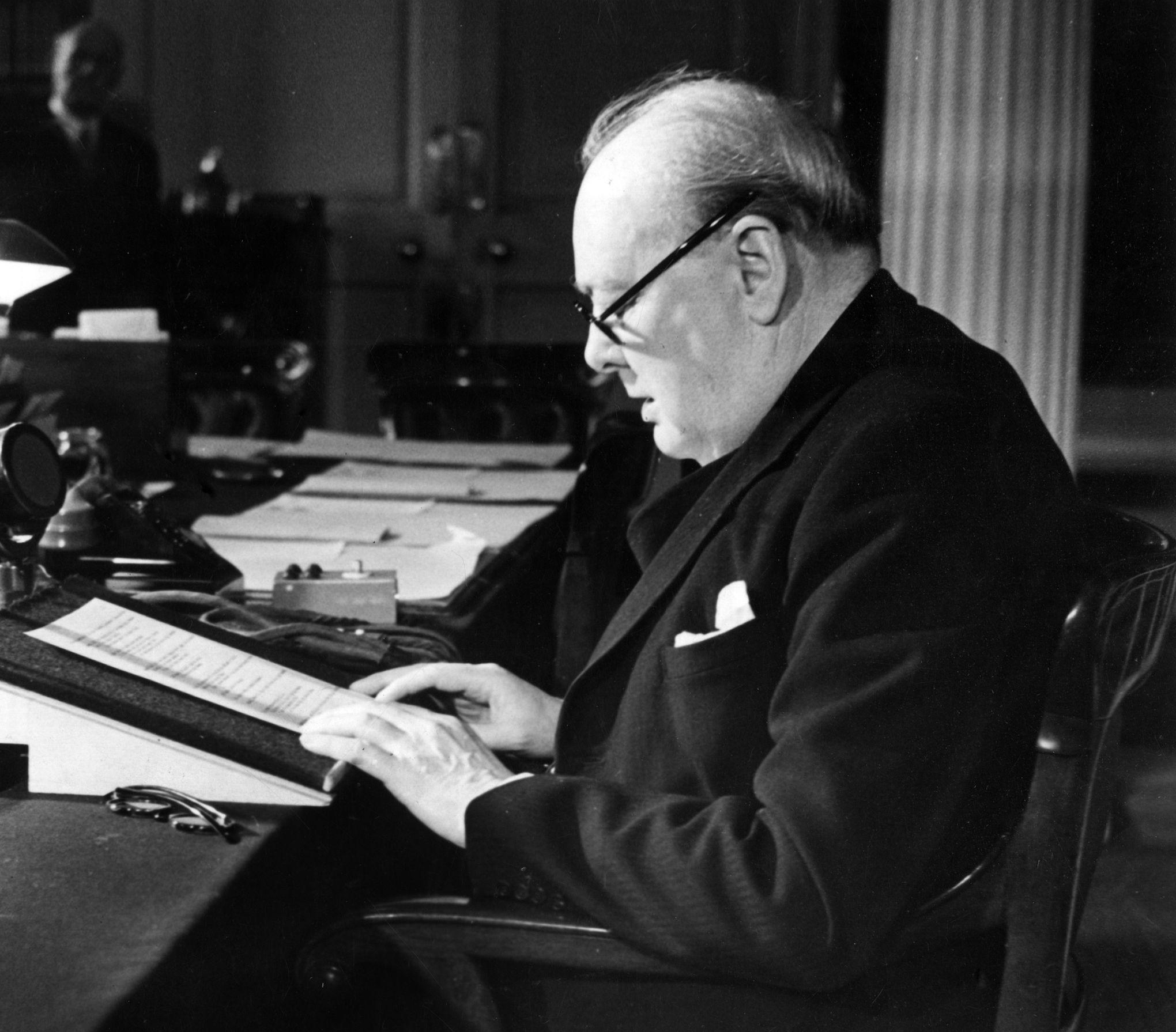 Le 5 mars 1946, Churchill s\'exclame : «Un rideau de fer s\'est abattu»