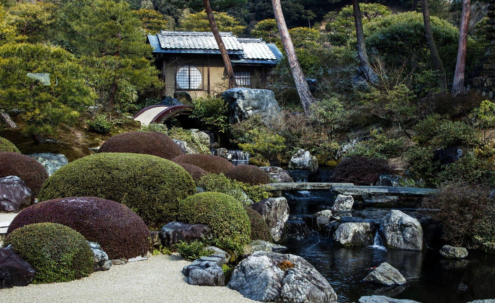 À yasugi, un jardin japonais pensé comme un tableau vivant