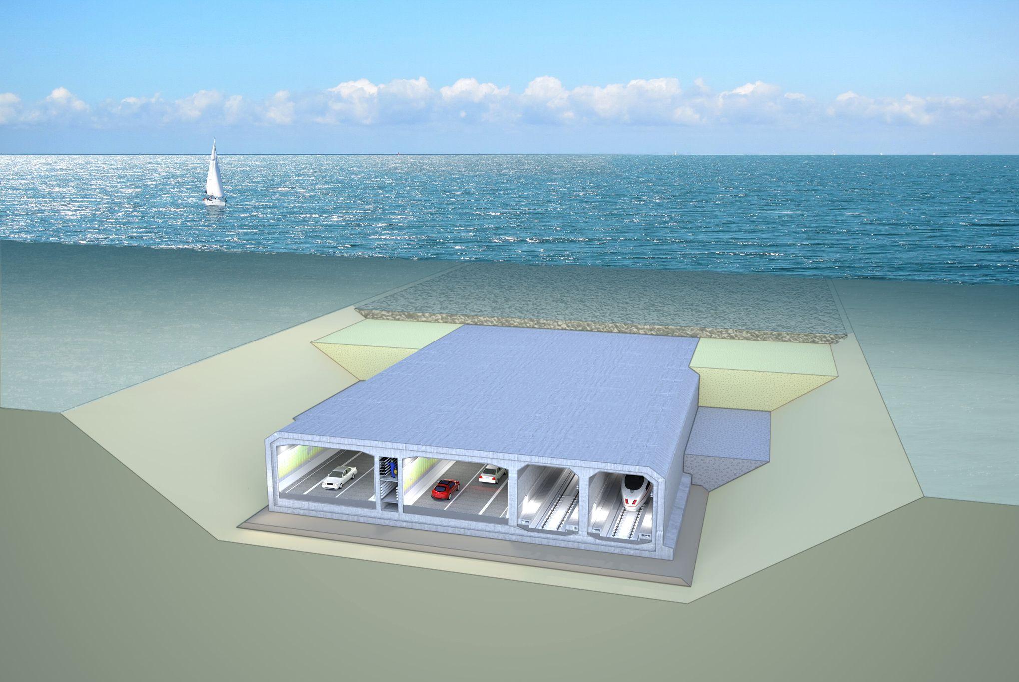 Vinci Va Batir Un Tunnel Geant Entre Le Danemark Et L Allemagne