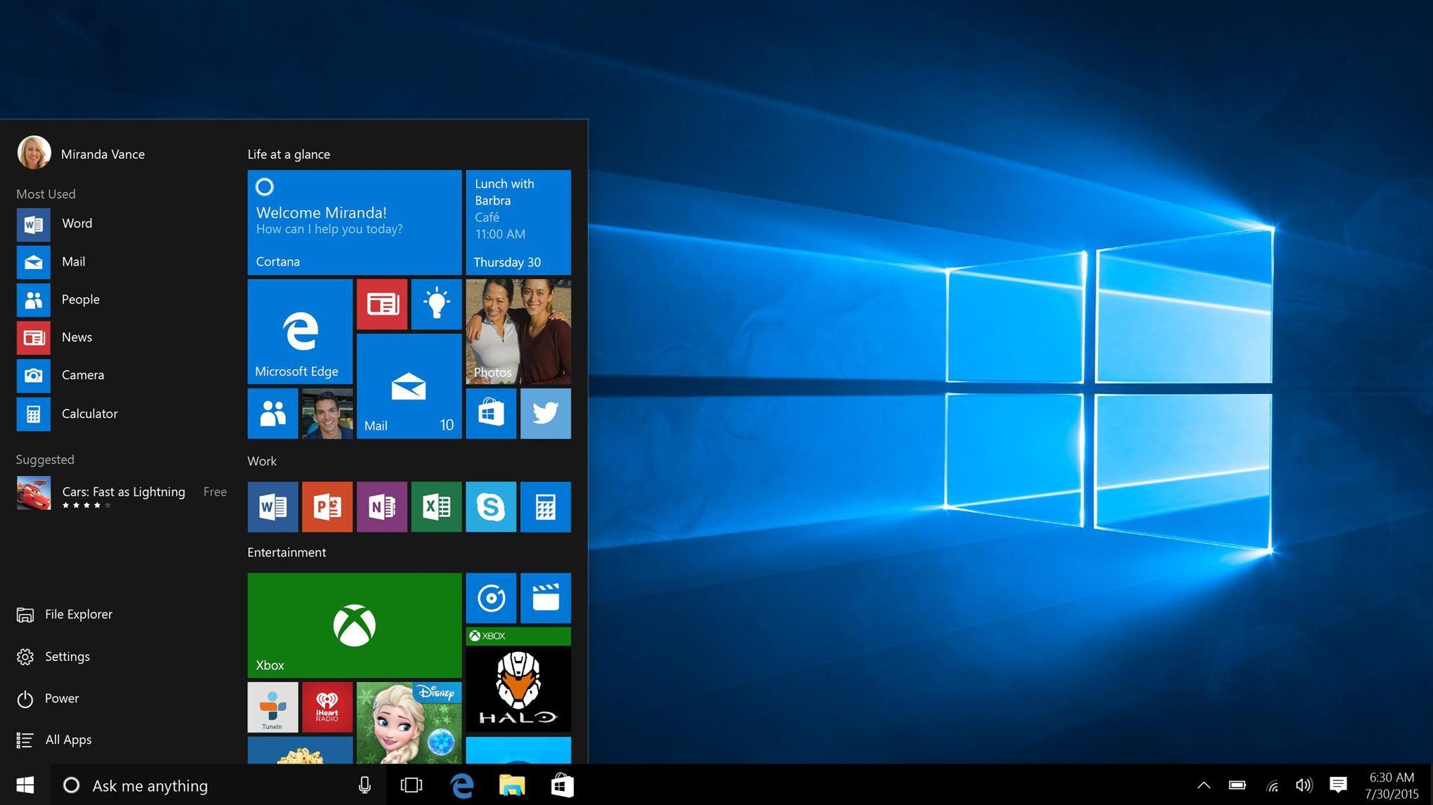 Force Installer Windows 10 Elle Obtient 10000 Dollars De Microsoft