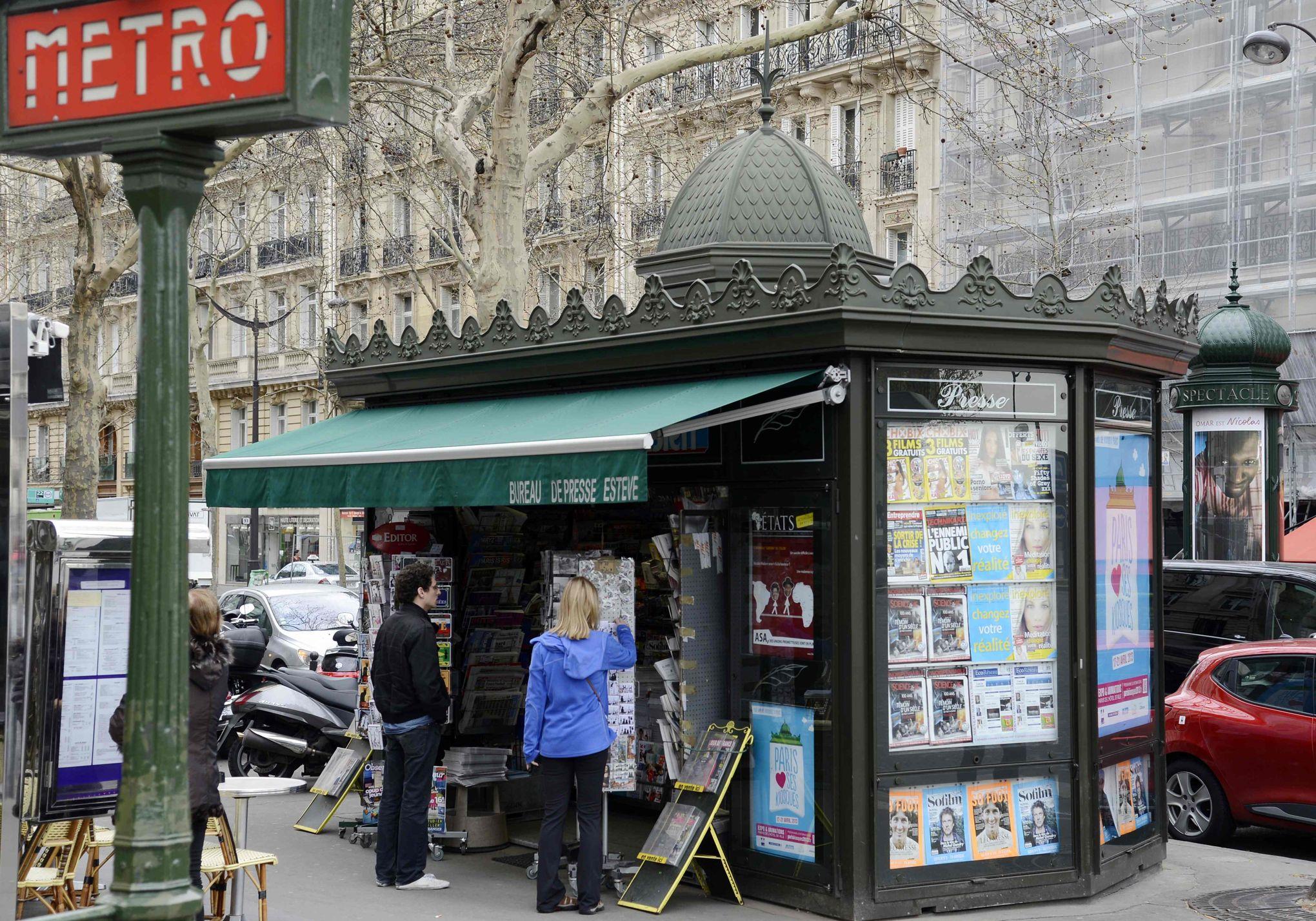 Madame hidalgo ne massacrez pas les kiosques à journaux parisiens !