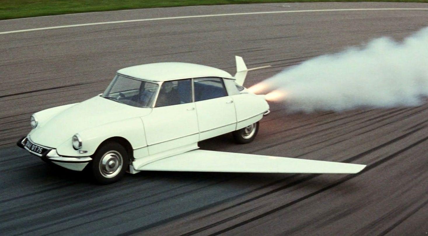 La Citroën DS de Fantômas: un bolide de superméchant