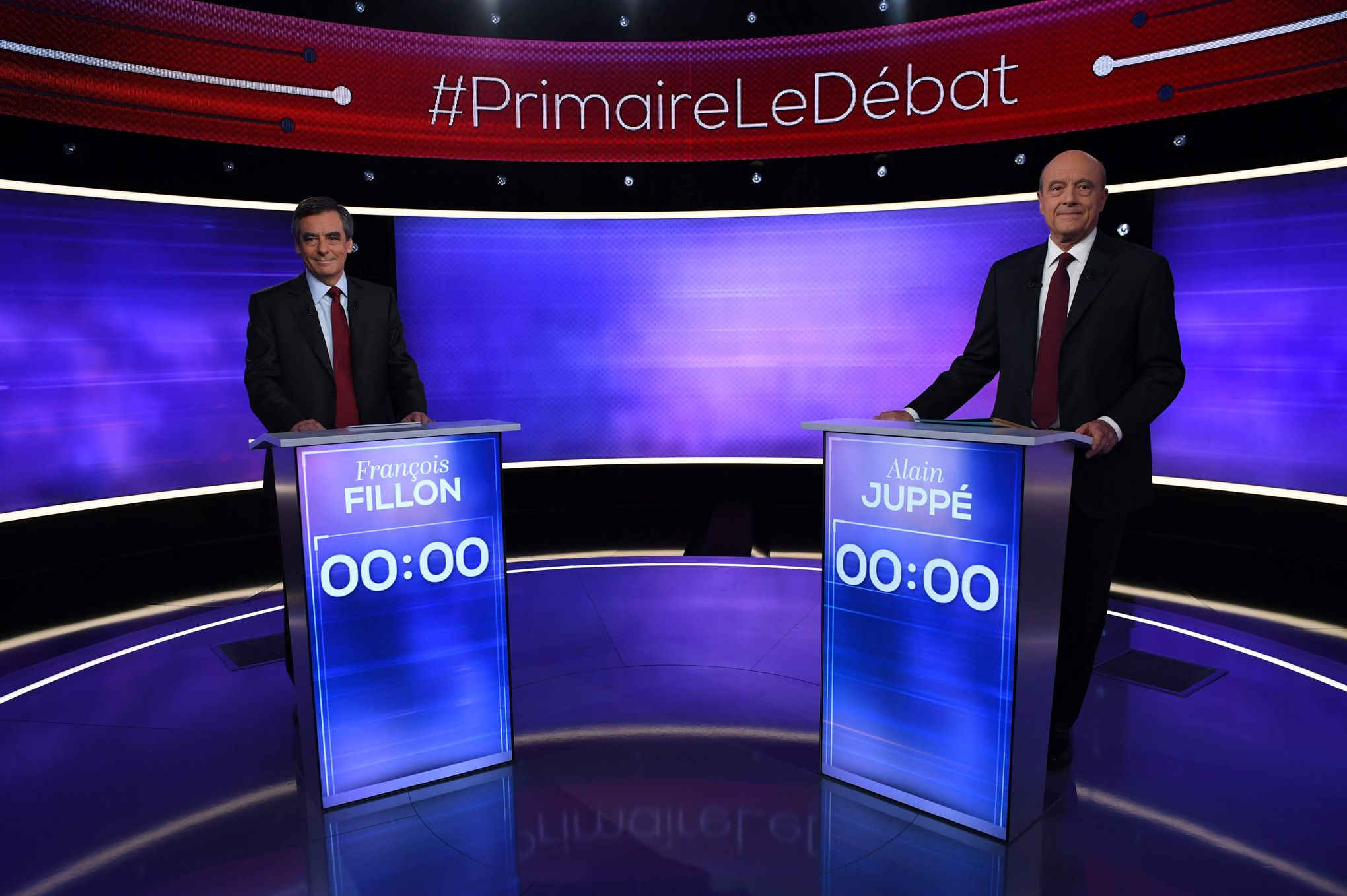 débat alain juppé françois fillon