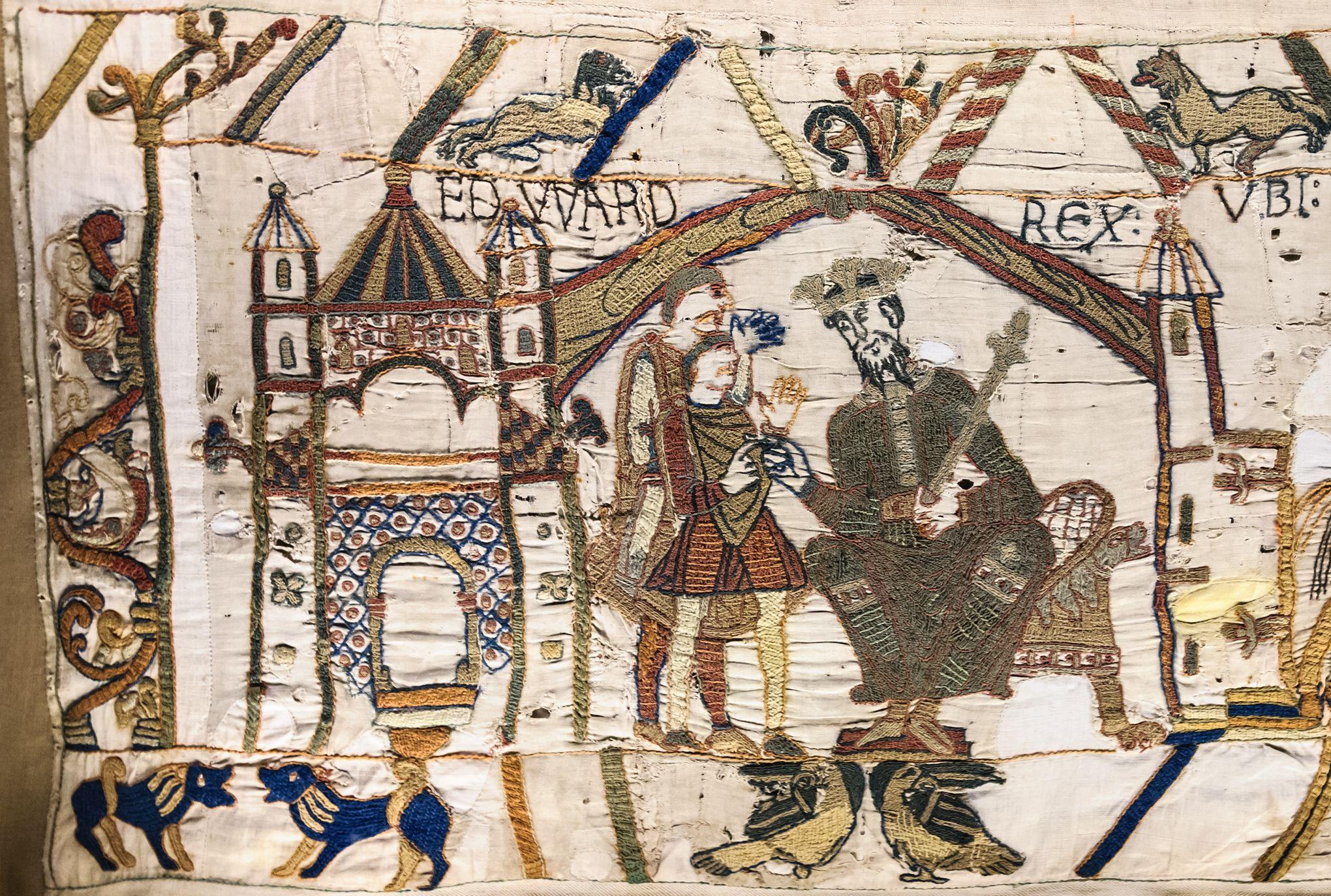 Tapisserie De Bayeux Retour A La Cathedrale Mais En Version Numerique