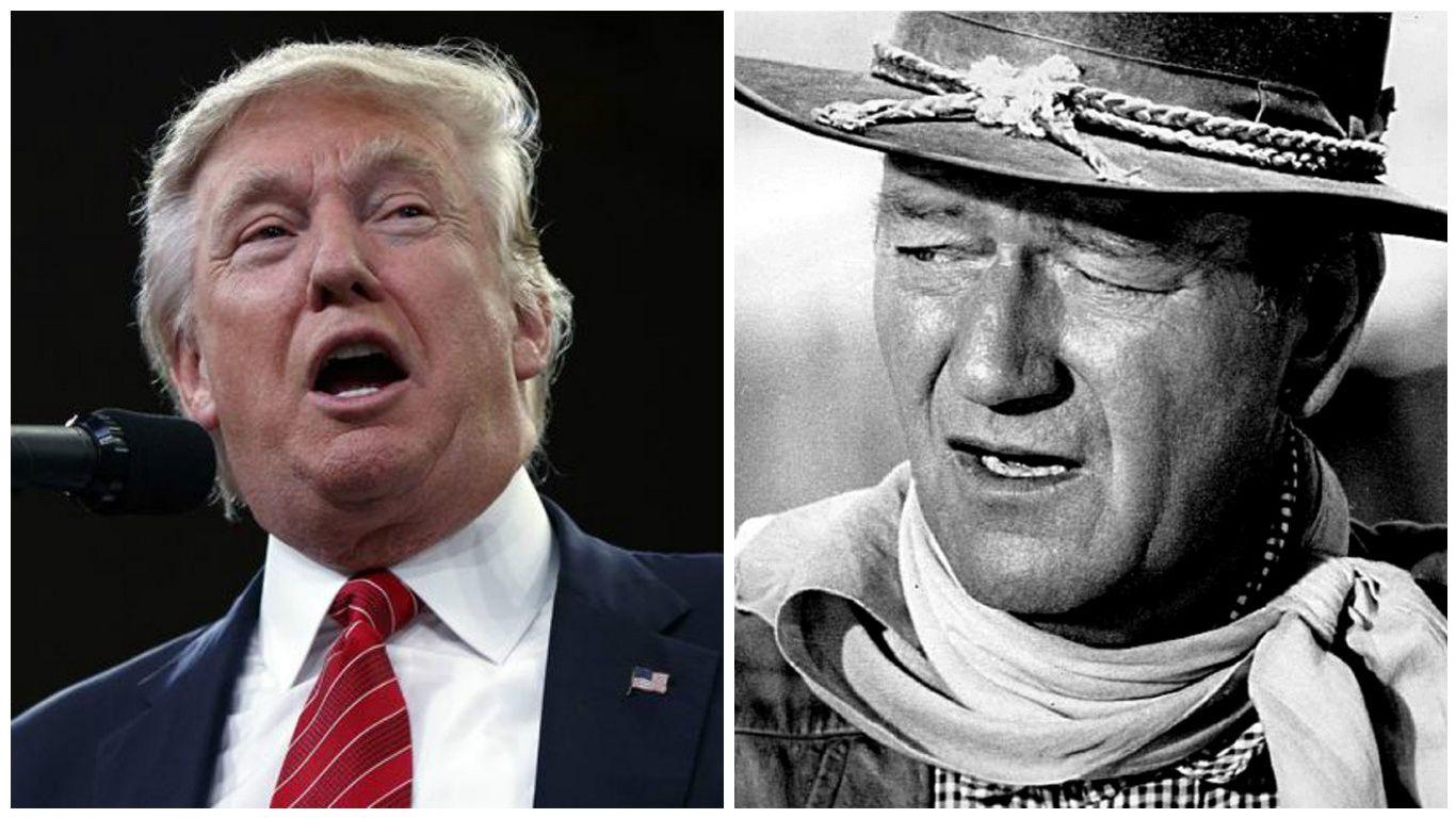 Trump est un héros de western qui défend les valeurs de l'Amérique
