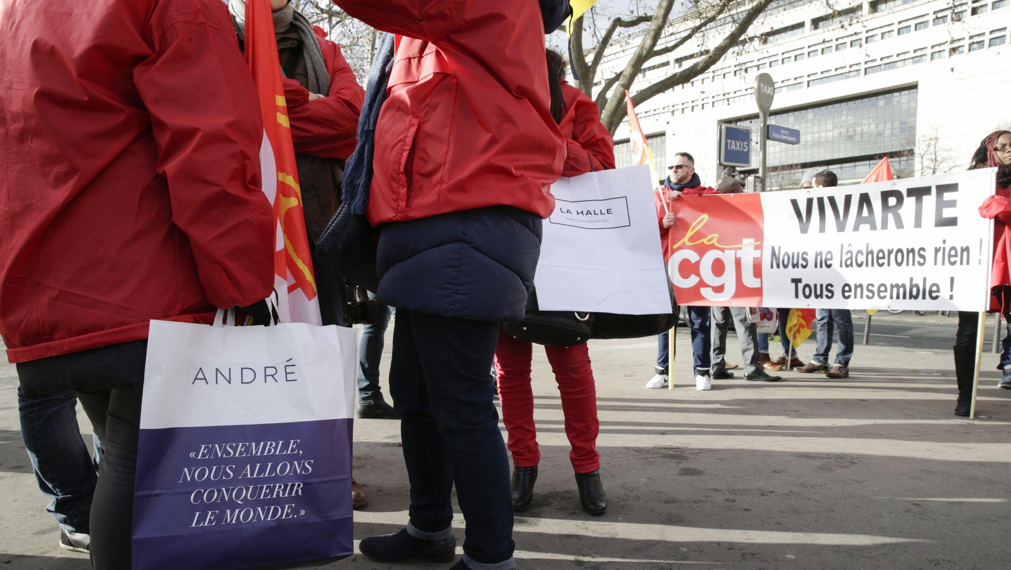ed53b5cdaa94a8 André, La Halle : deux PSE annoncés et des cessions d'enseignes