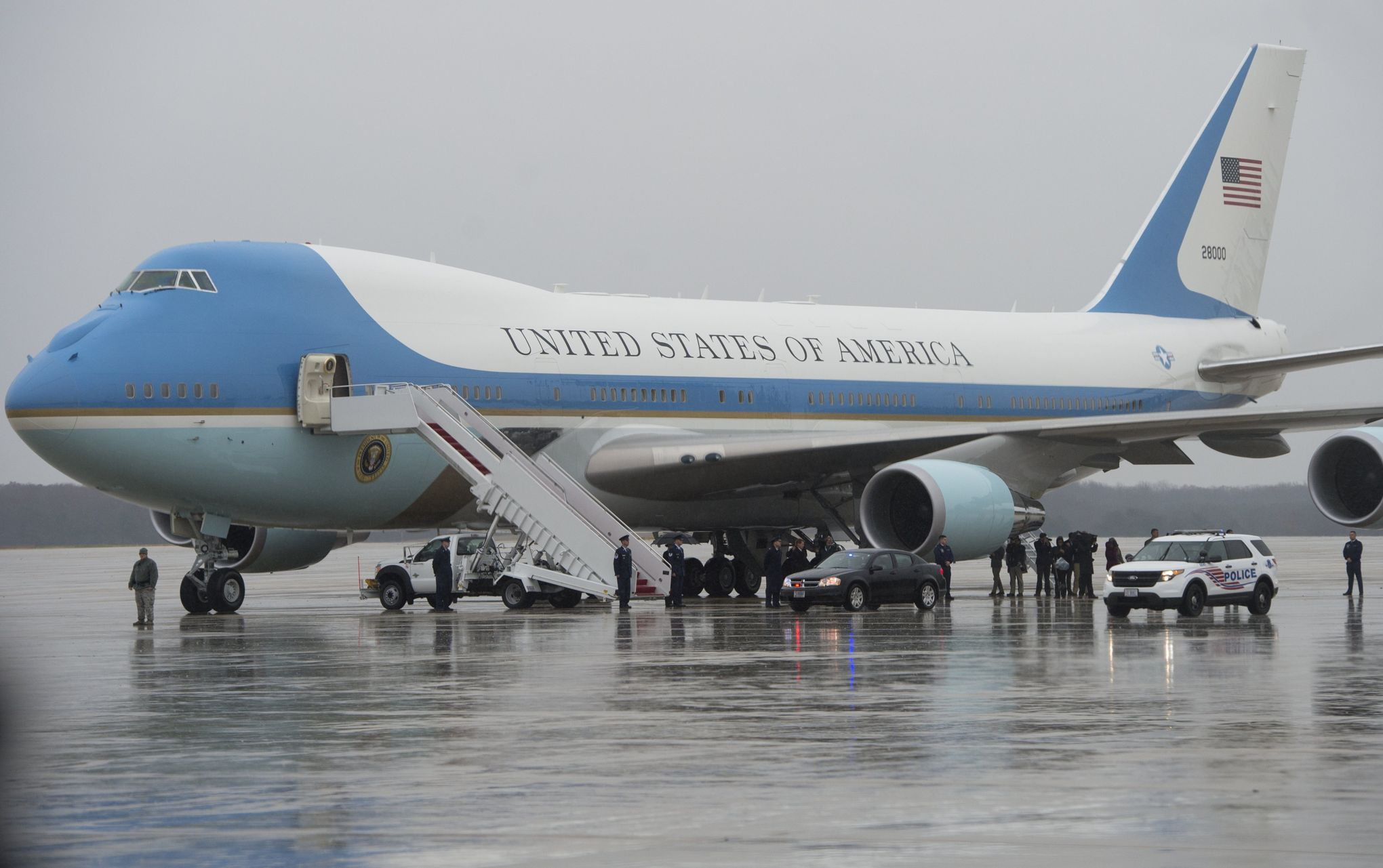 Air Force One, l'avion officiel du président des États Unis