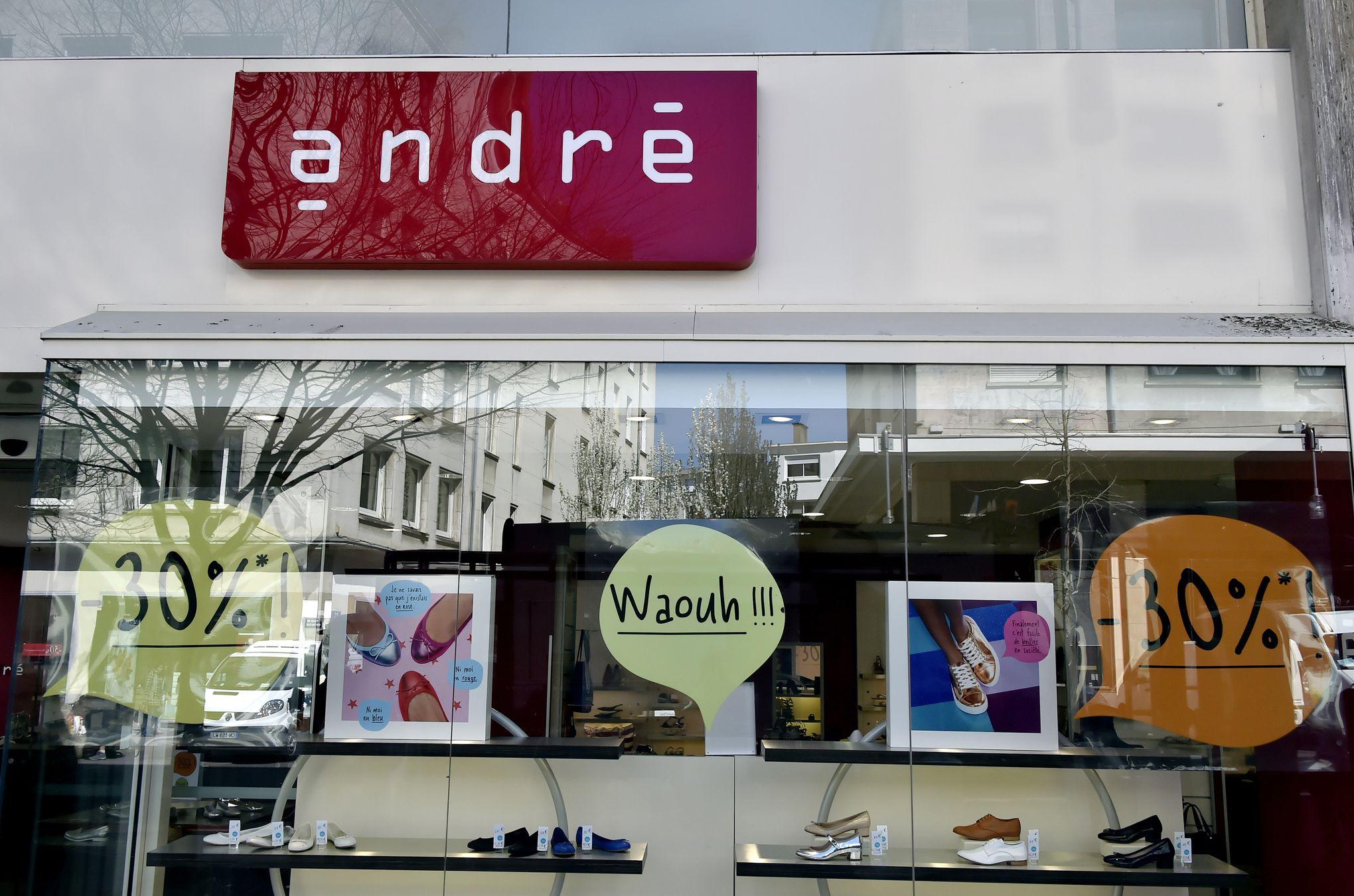 Vivarte annonce la cession d'André et de Naf Naf