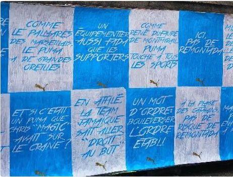 Puma lance sa campagne de communication à Marseille et