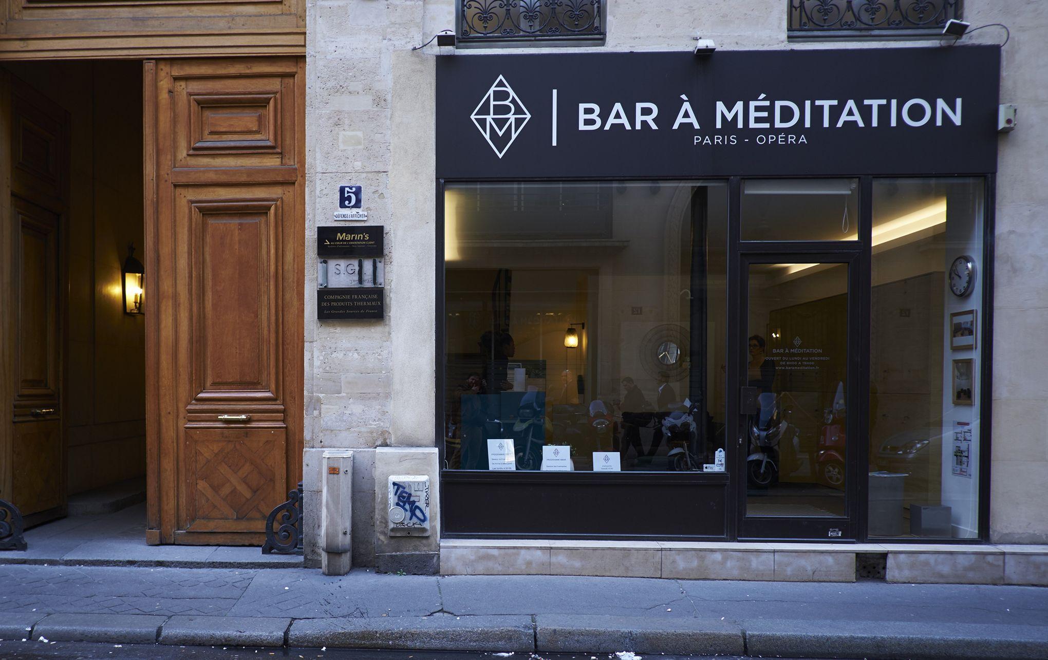 Décoration Salle De Méditation le premier bar à méditation de paris
