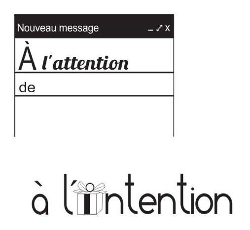 A L Attention De Ou A L Intention De