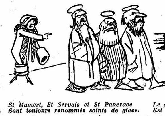 """Résultat de recherche d'images pour """"saint mamert saint pancrace saint servais"""""""