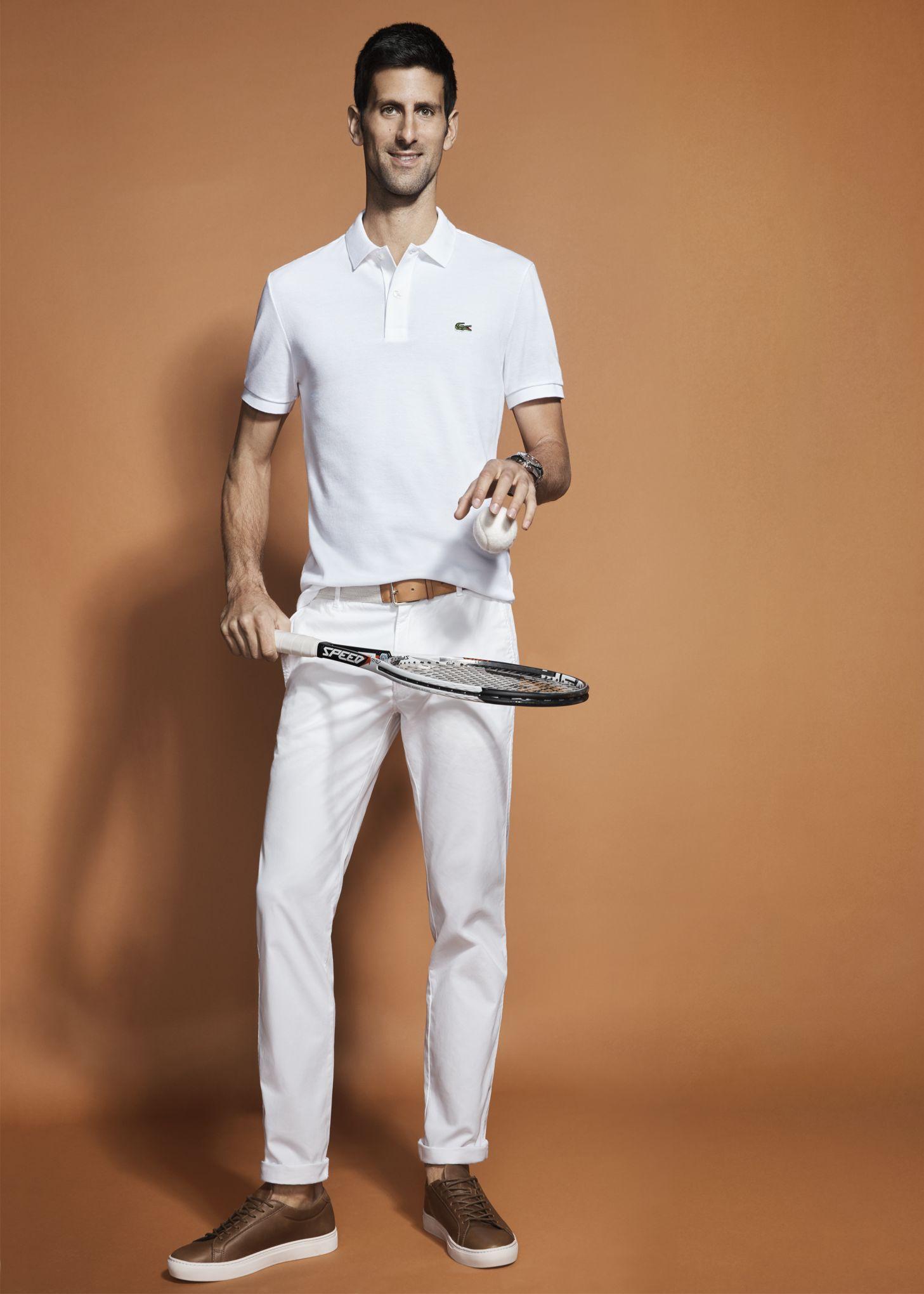 cc3a592eeb Lacoste s'offre Djokovic à une semaine de Roland-Garros