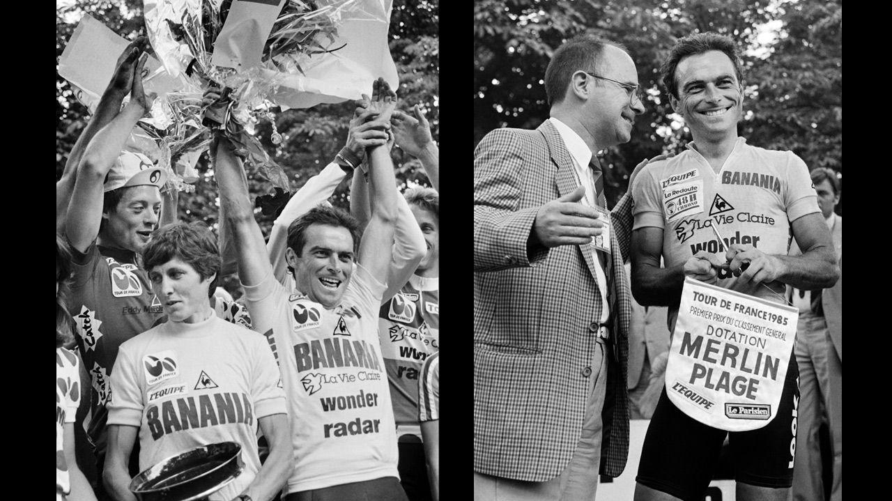 Bernard Hinault dernier vainqueur français du Tour de France en 1985