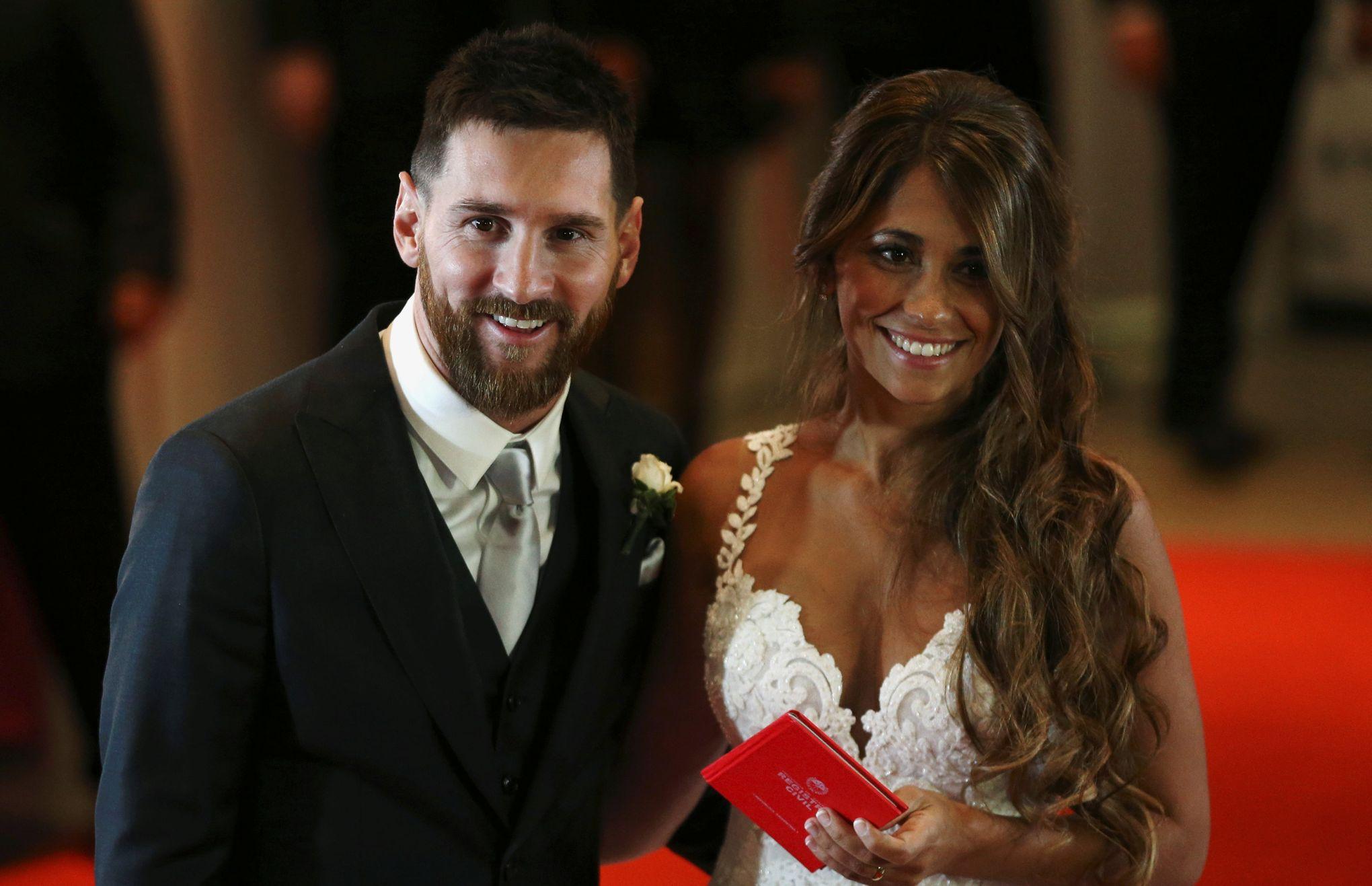 Les 260 Invités Au Mariage De Messi Nont Versé Que 24500