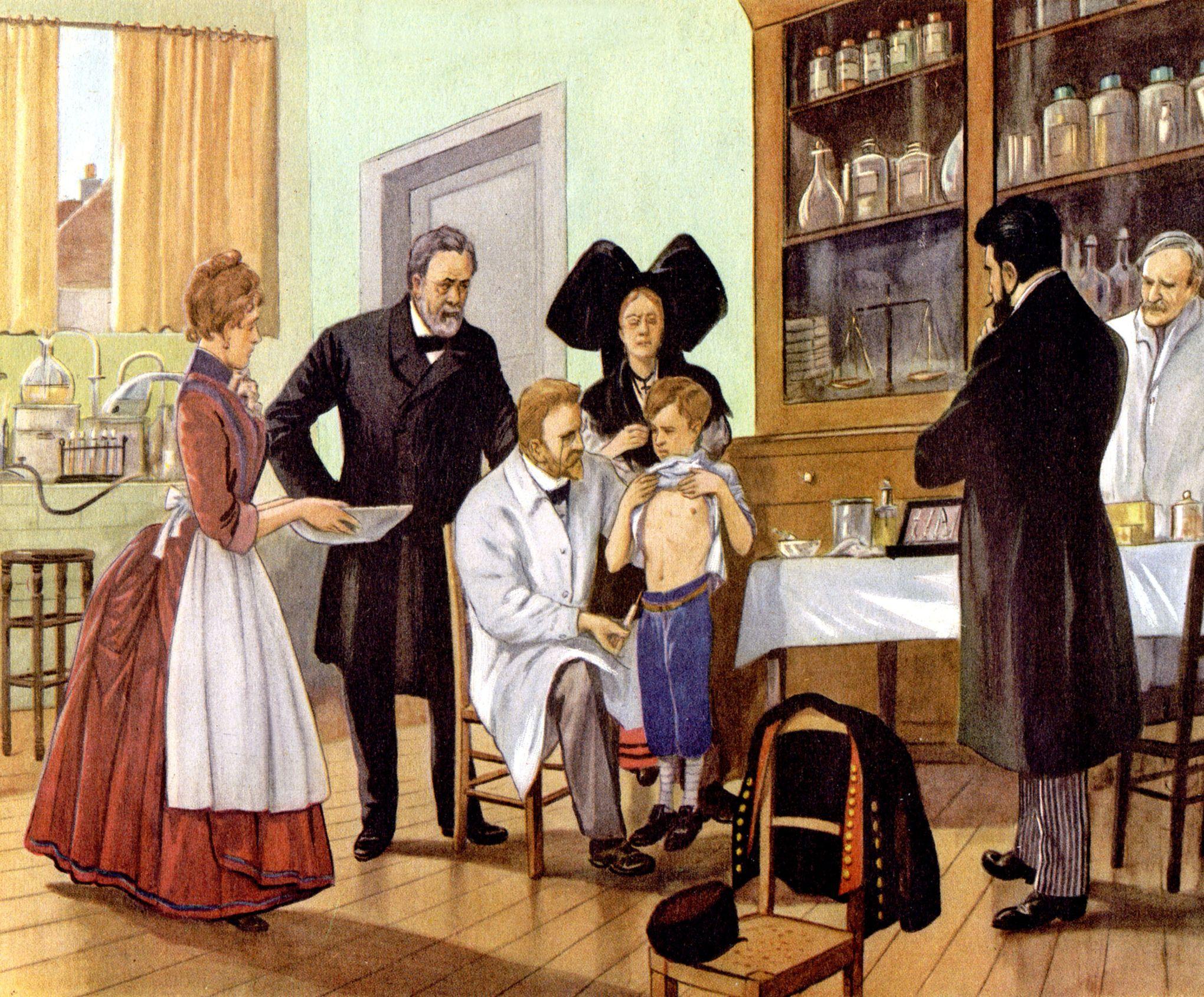 Préférence Vaccin contre la rage : le jour historique où Pasteur a vaincu la  FO38