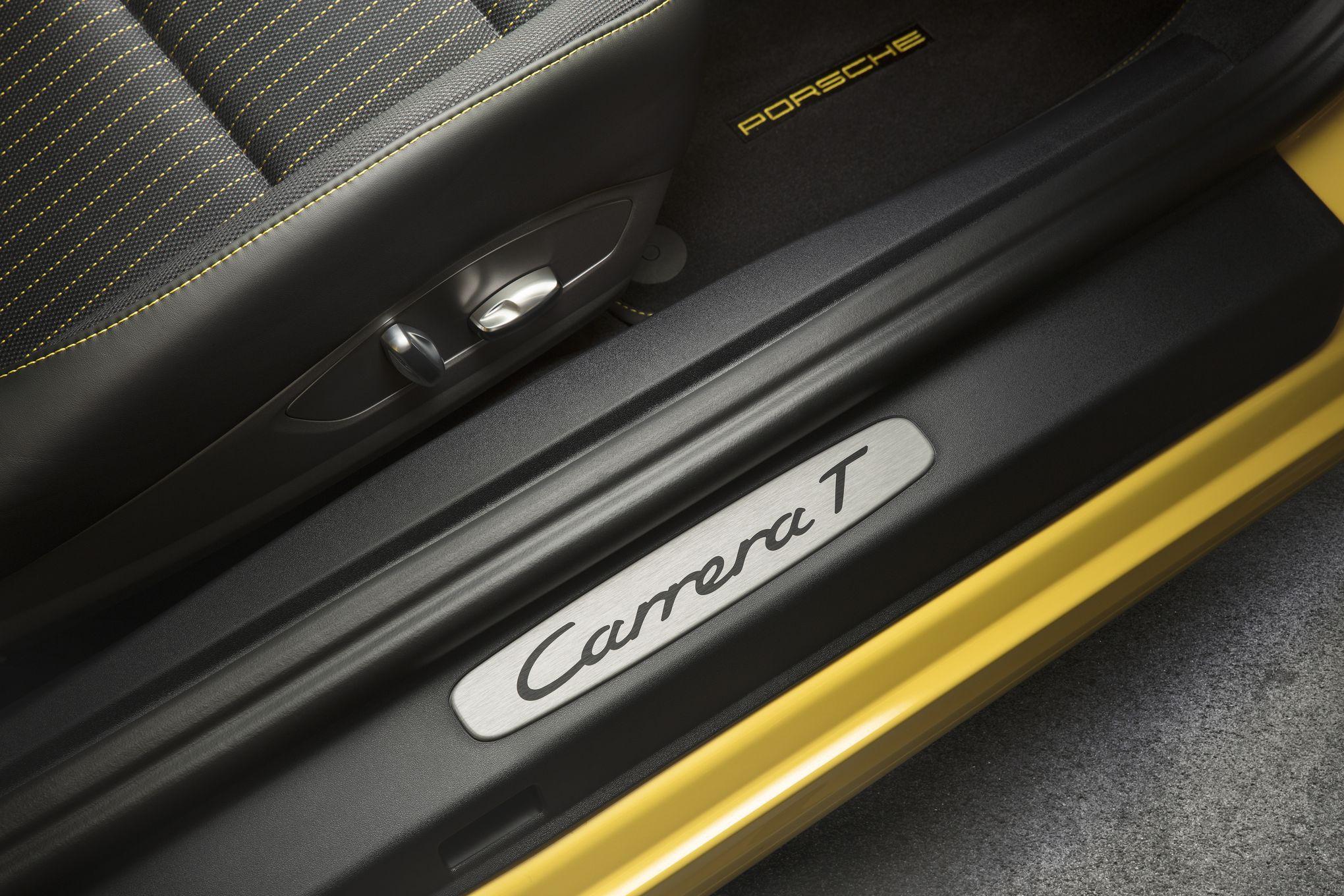61f6d34603 Porsche 911 Carrera T, un peu plus légère et un peu plus sportive que le  modèle de base