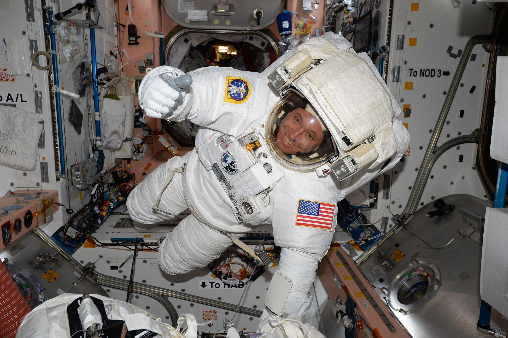Le cerveau des astronautes modifié après les longs vols