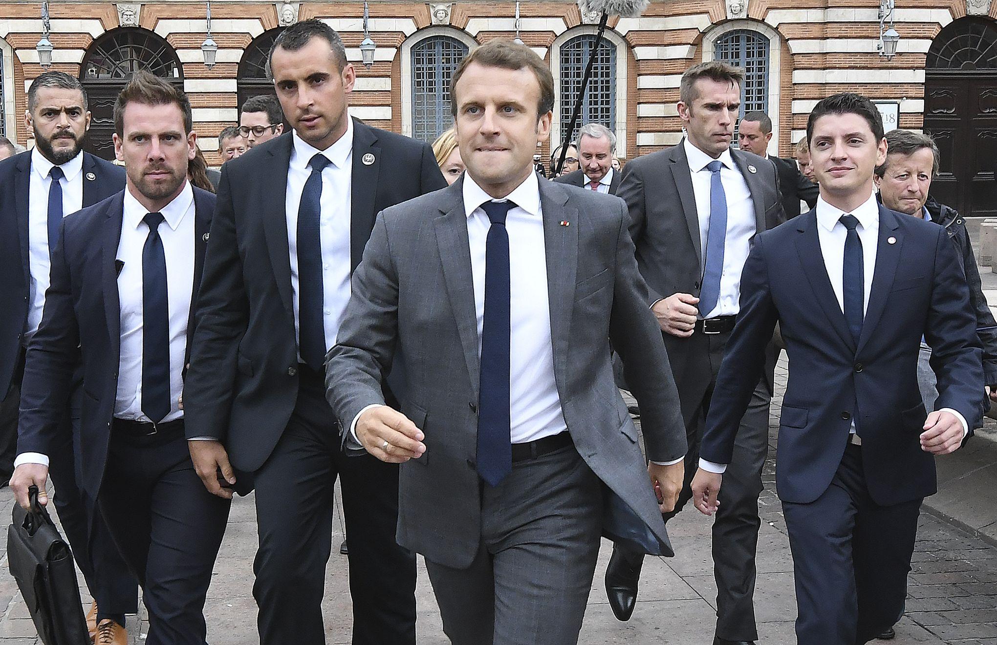 Garde Du Corps Marseille autour du président macron, une sécurité renforcée pour