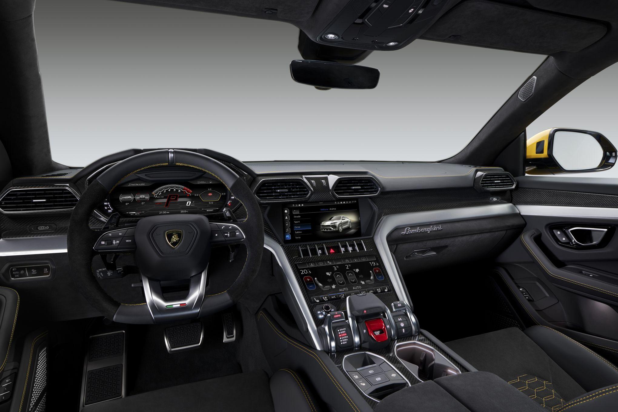 Lamborghini Urus Le Taureau Sonne La Charge