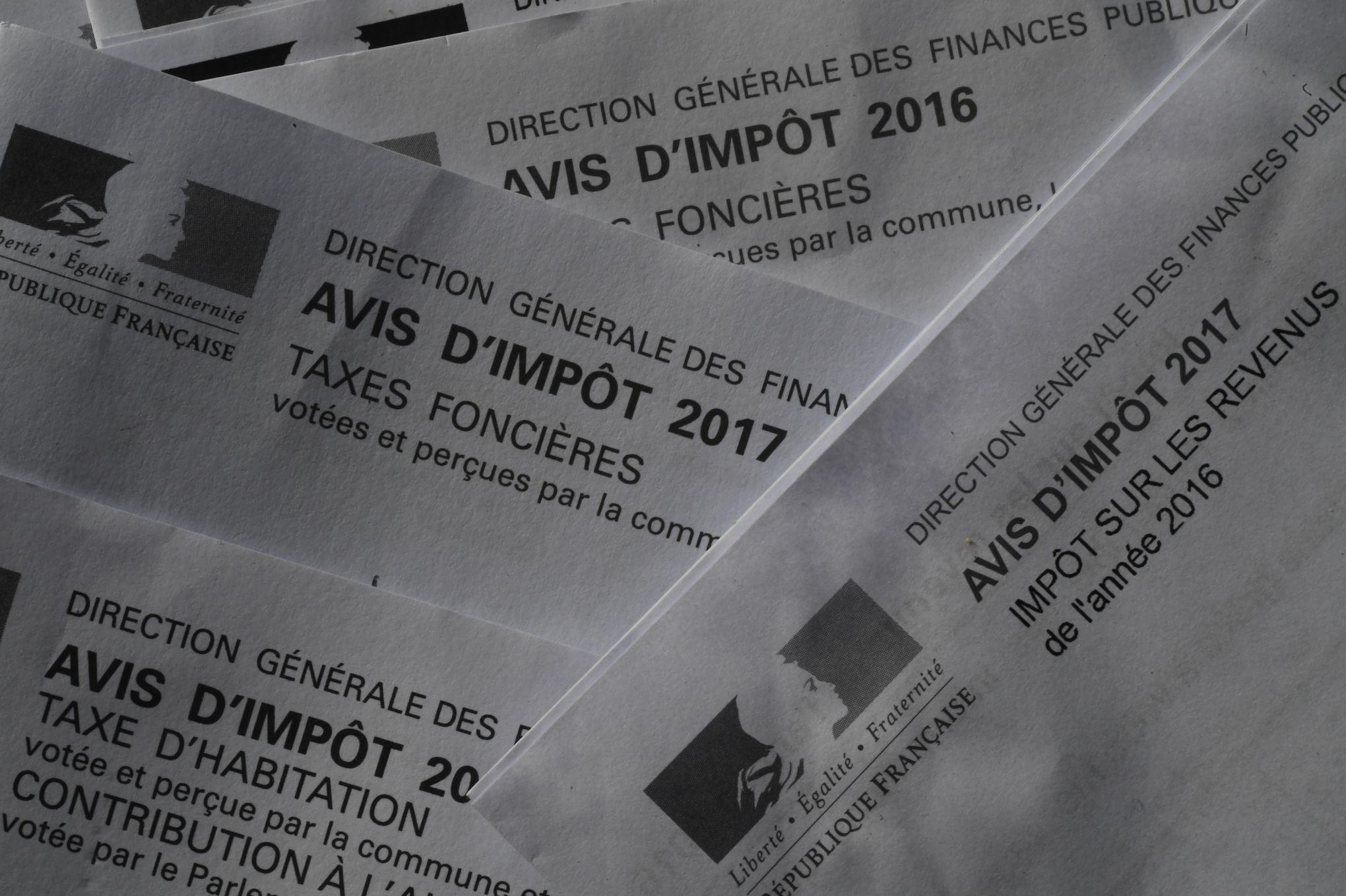 En Avril 500 000 Contribuables Recevront Une Declaration D Impot