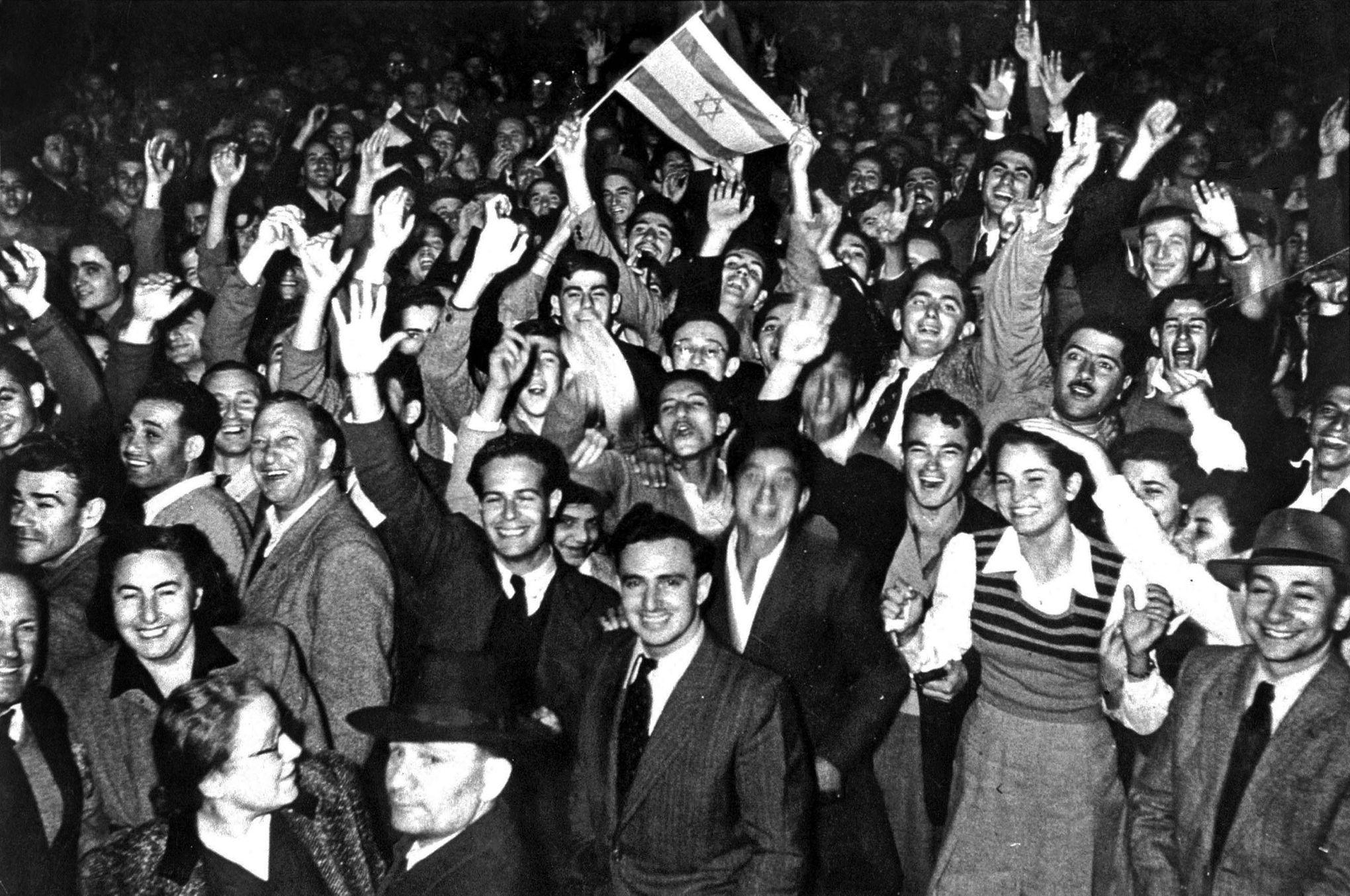 14 mai 1948 : naissance de l'État d'Israël
