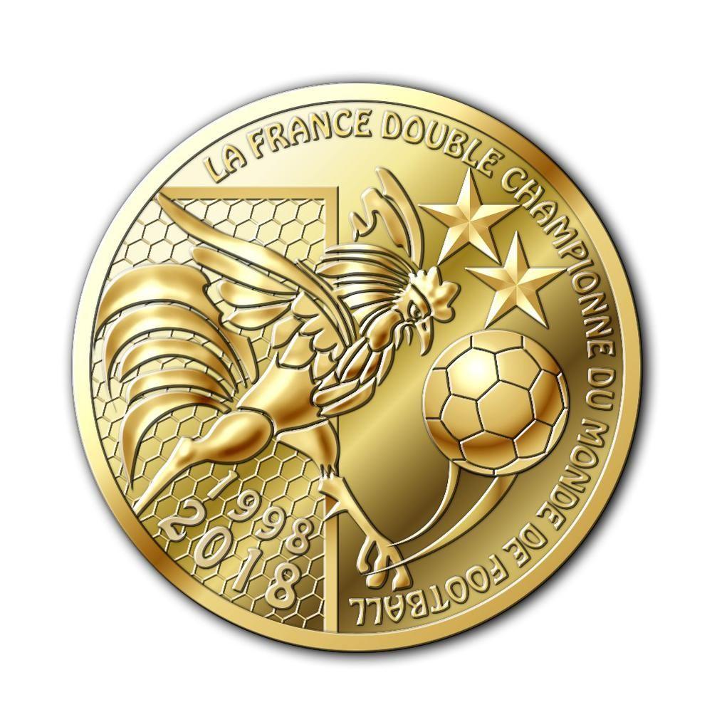 piece de monnaie de paris coupe du monde