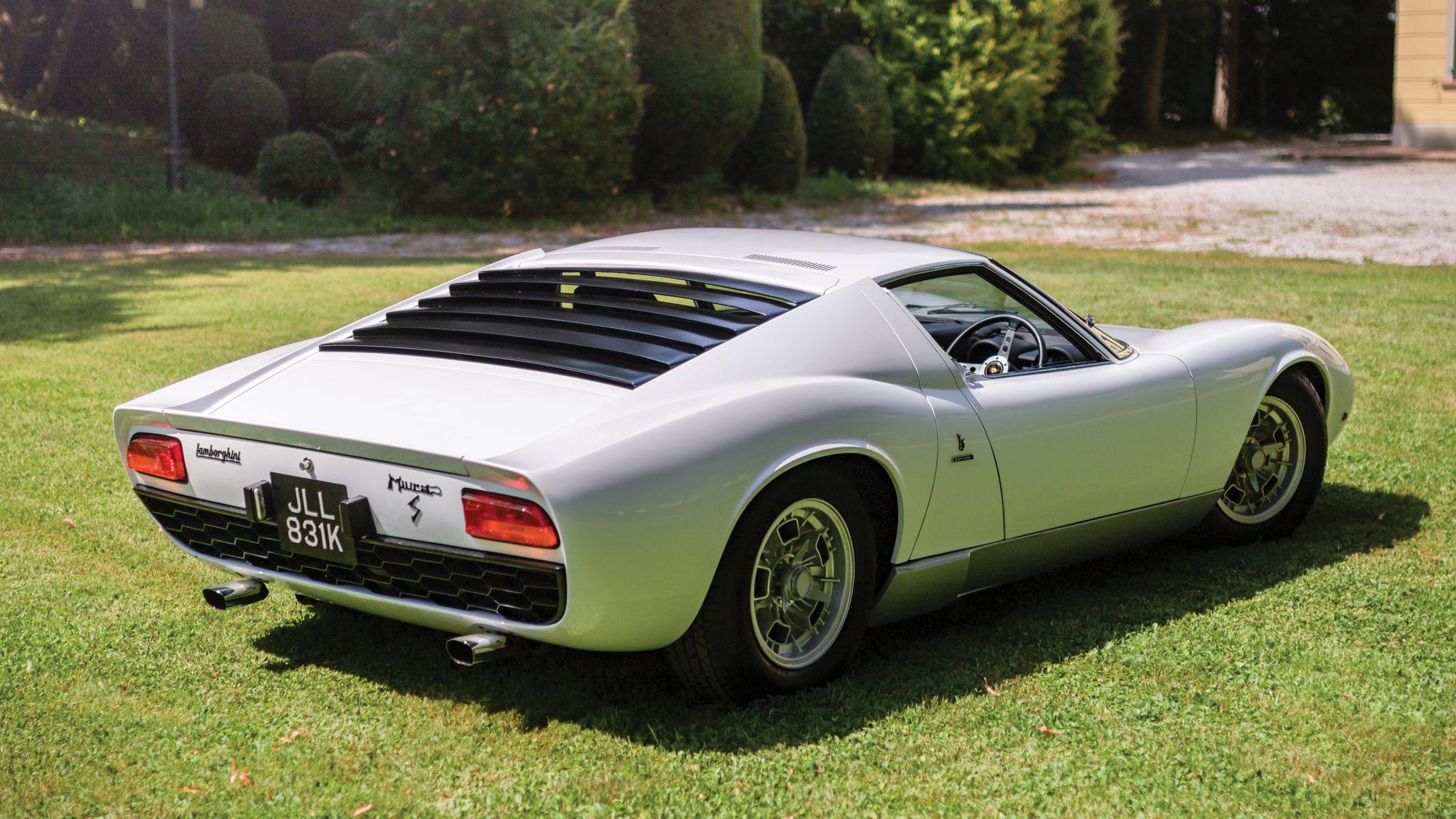 La Lamborghini Miura De Rod Stewart A Vendre