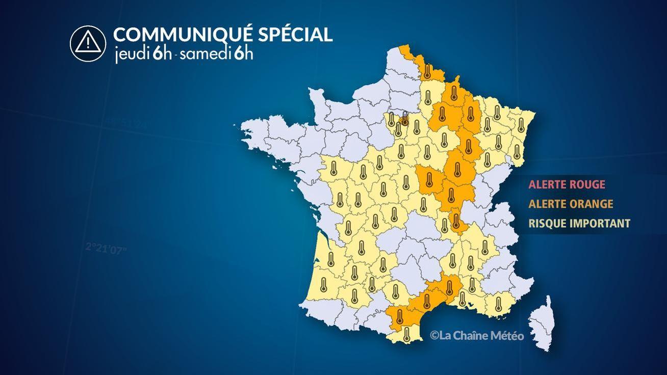 Météo   les fortes chaleurs s installent en France faf9b6c05614