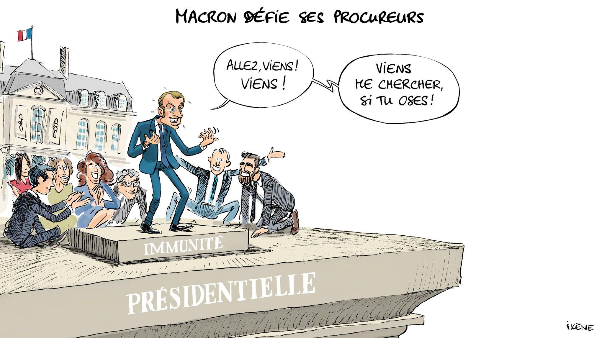 Le coup d'État judiciaire que tente Macron le sauvera-t-il ?