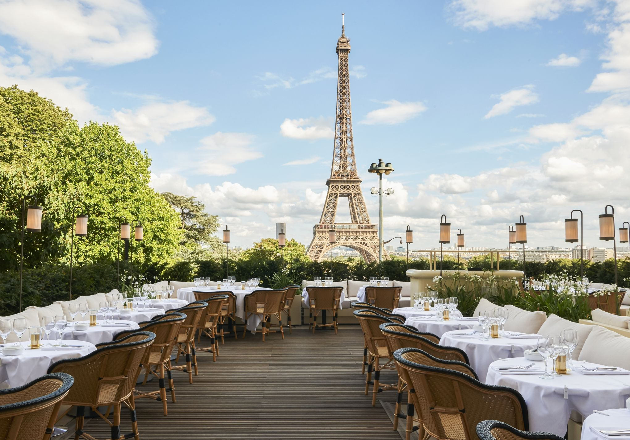 Restaurants with View of Eiffel Tower #5 - Girafe Restaurant