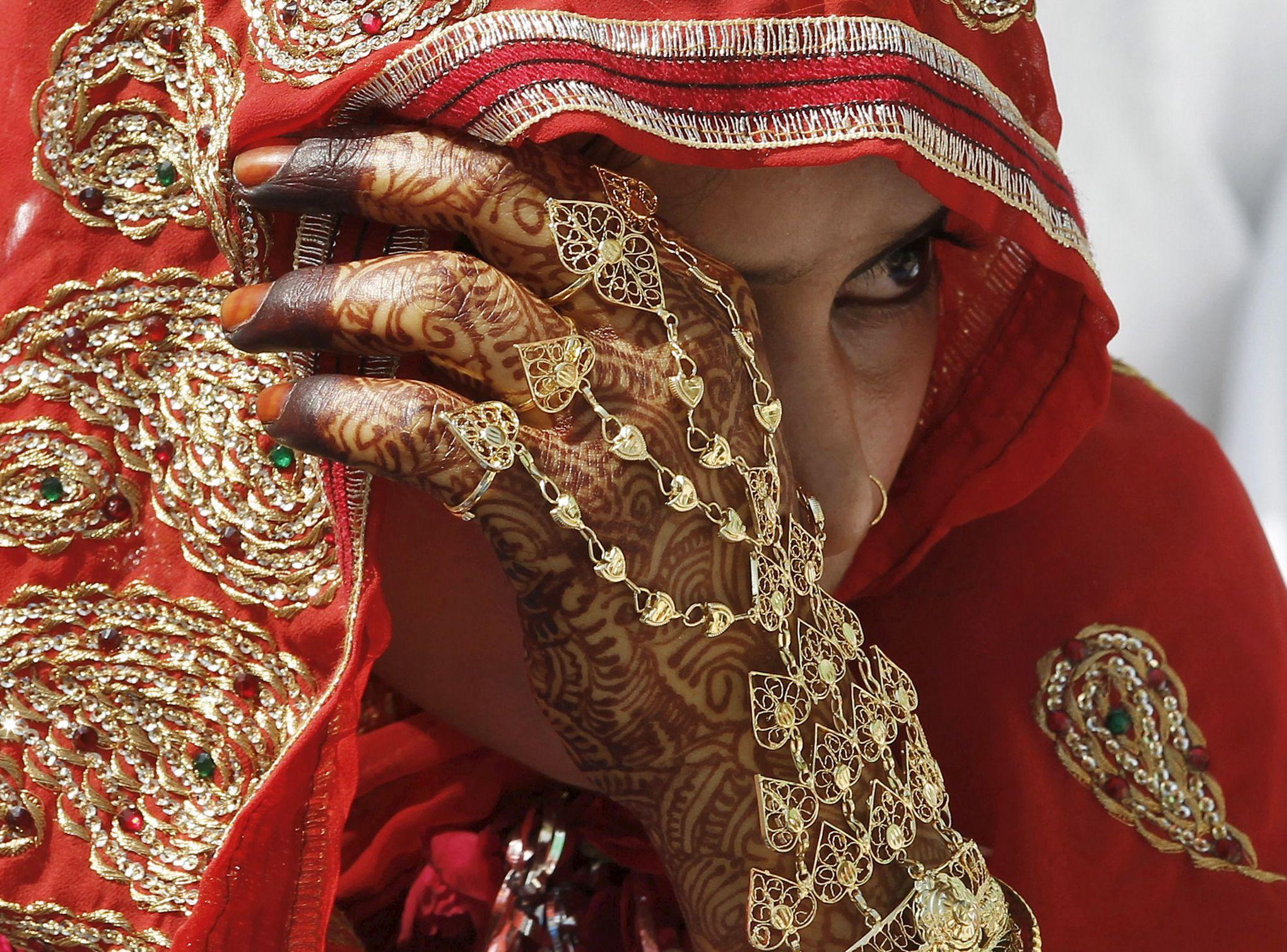 Mariée indienne datant