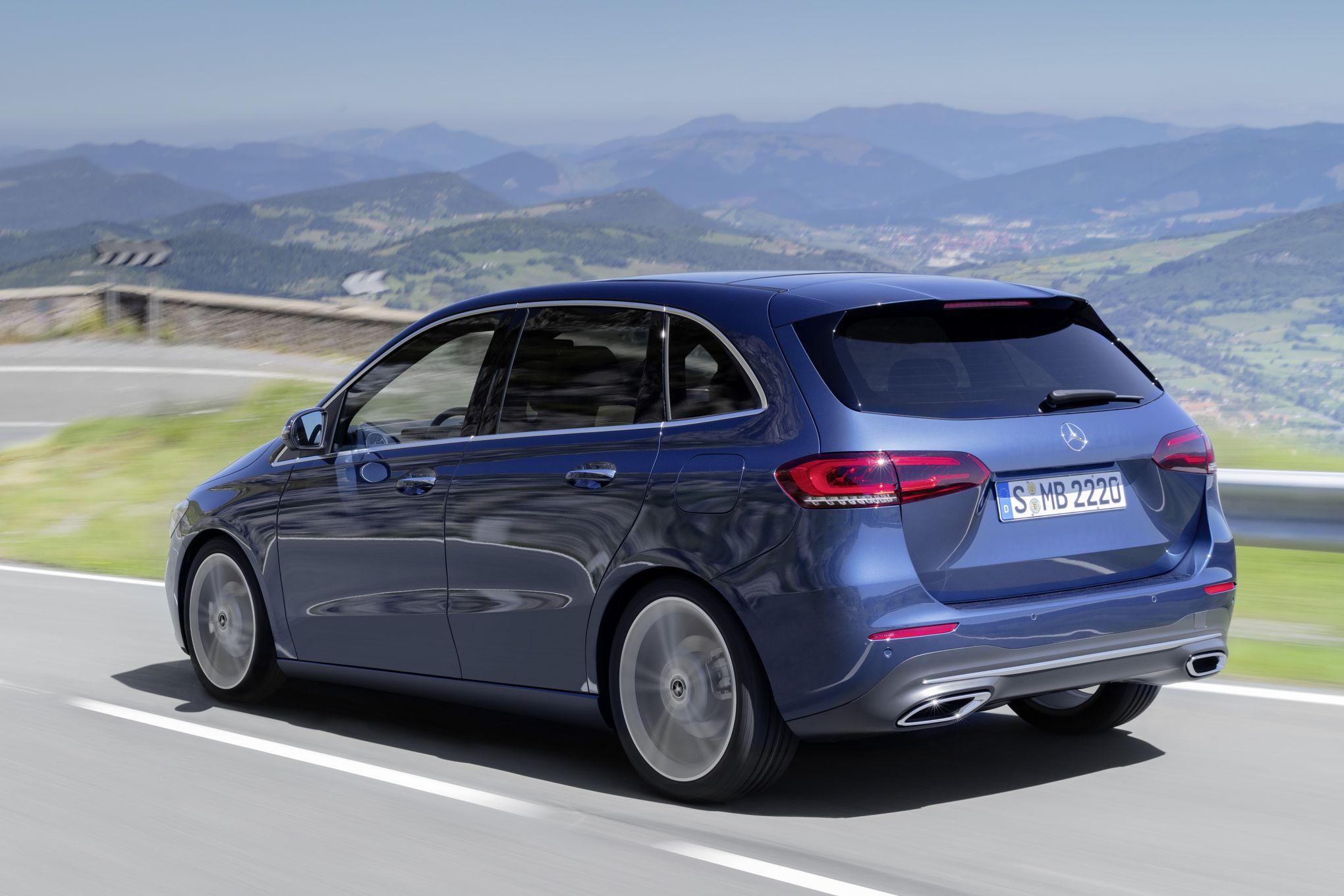 Mercedes Classe B Un Monospace Plus Dynamique