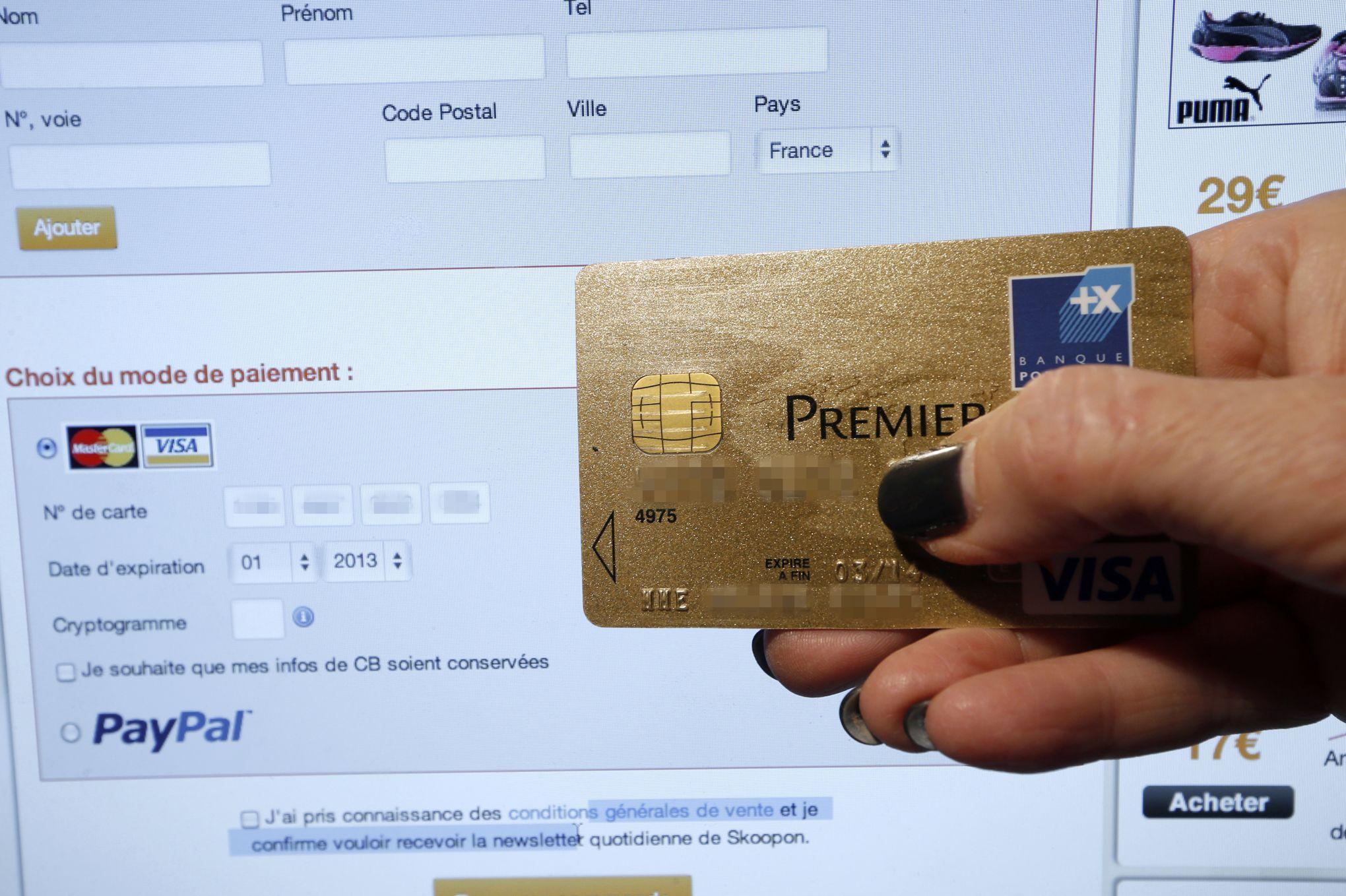 code postal carte bancaire Le SMS d'authentification des achats en ligne devrait disparaître