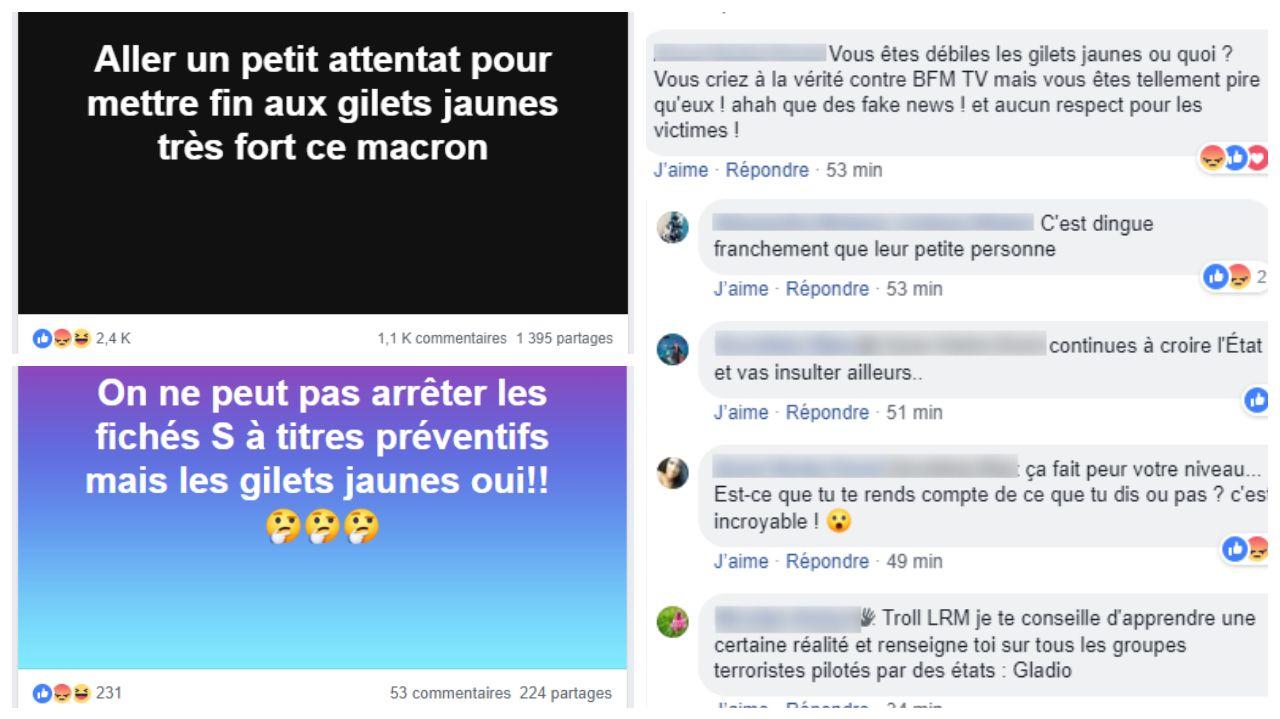 Bizarre Coup Monté Des Gilets Jaunes Voient Dans La Fusillade De Strasbourg Un Complot