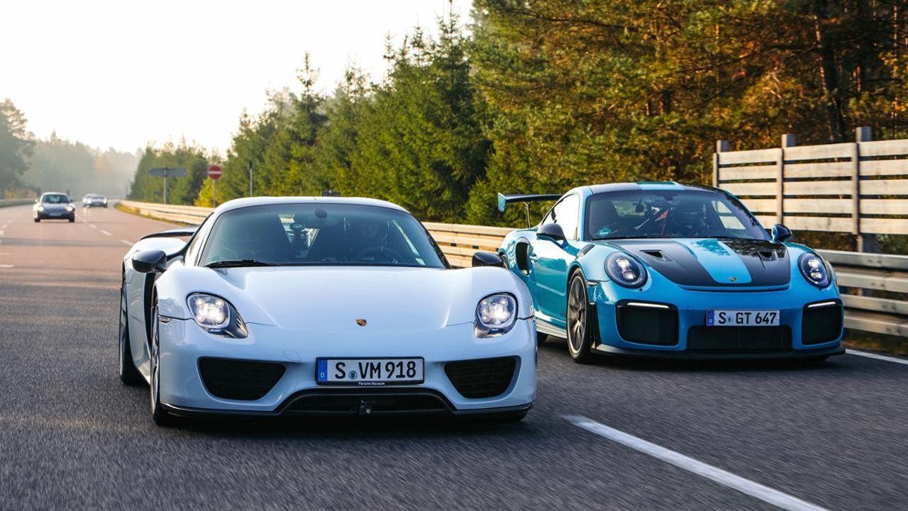 Les cinq Porsche les plus rapides au monde