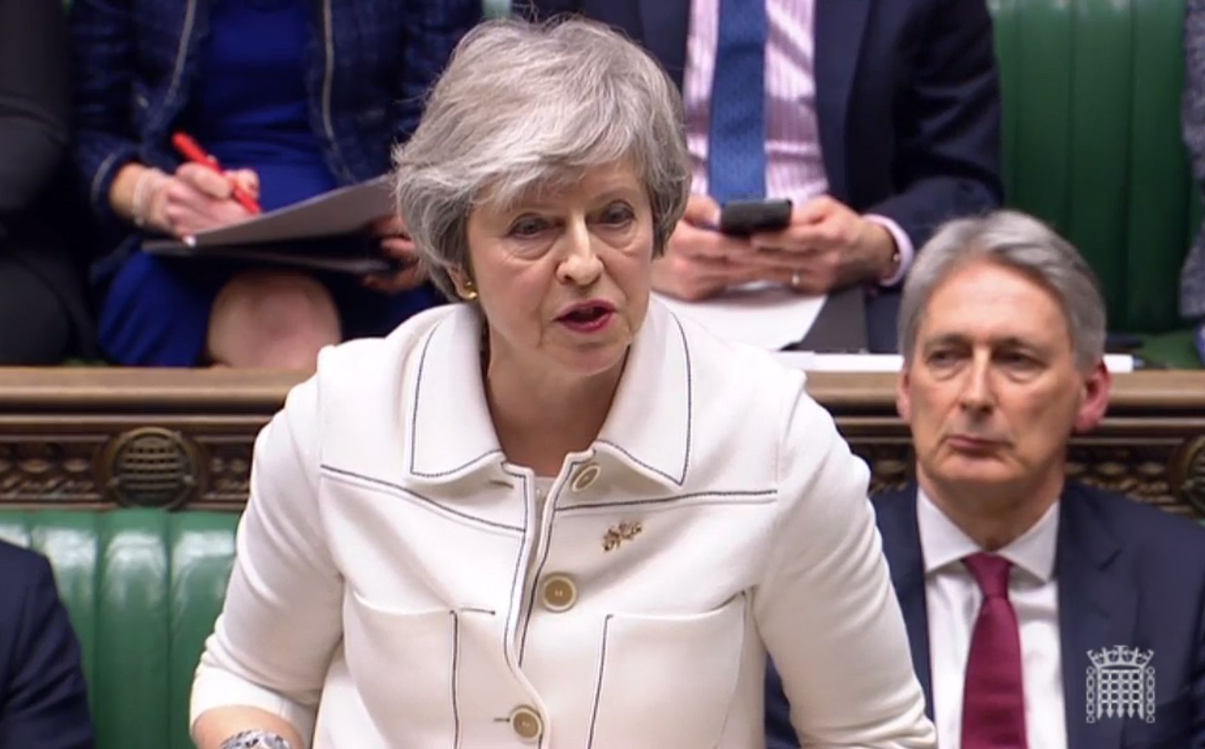 el la hora Parlamento Brexitla en británico verdad de PiuZkX