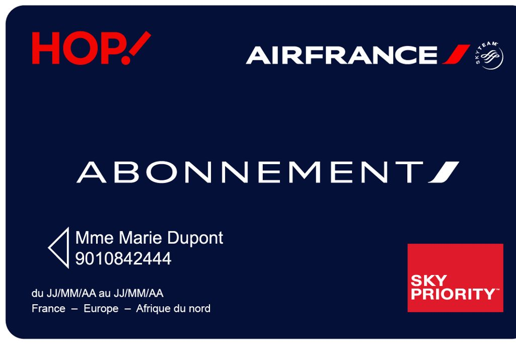 carte weekend air france Comment utiliser au mieux la nouvelle carte d'abonnement Air France