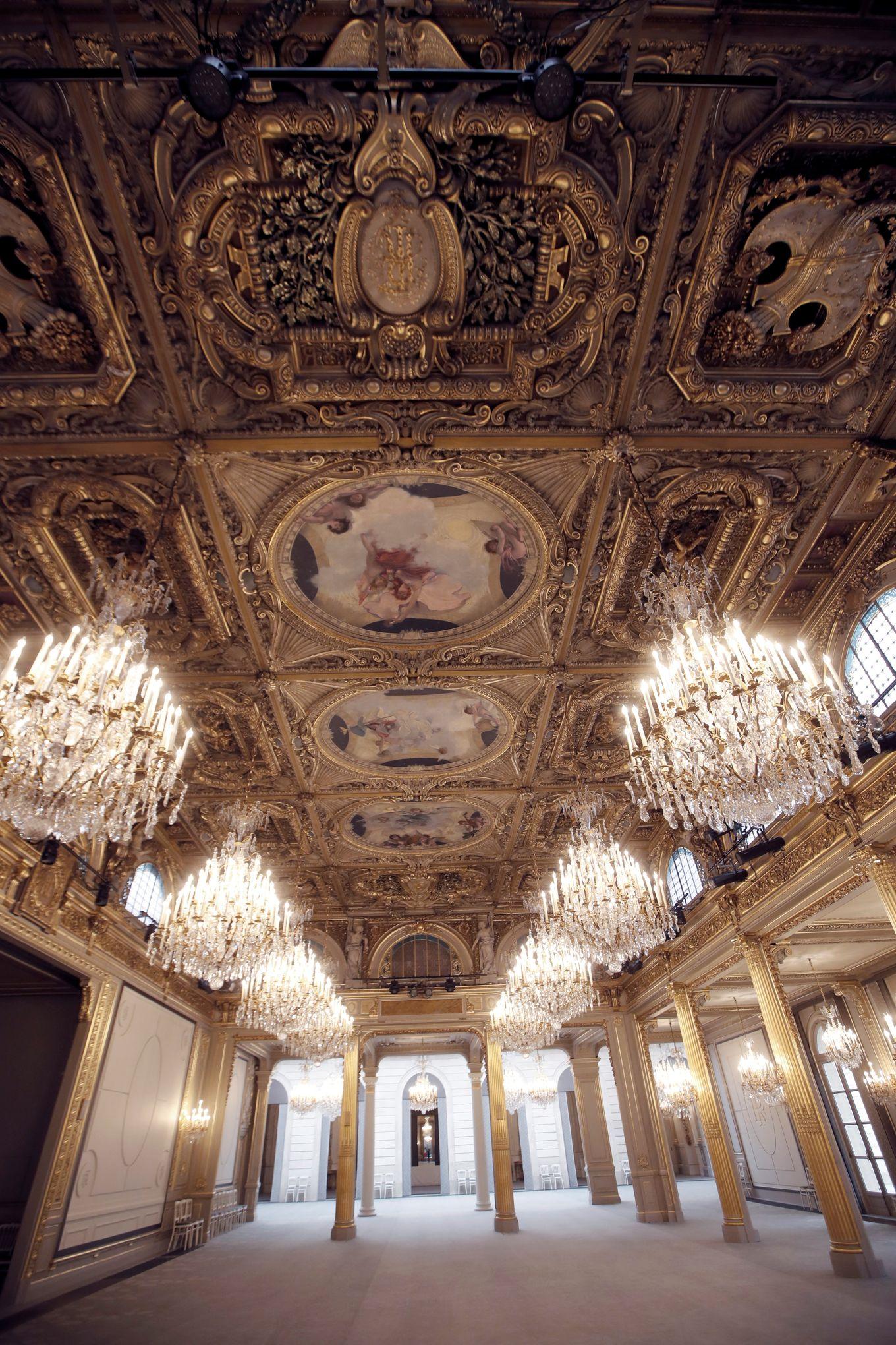 Decoration De Salle Pour Nouvel An palais de l'Élysée : la salle des fêtes rénovée est dévoilée