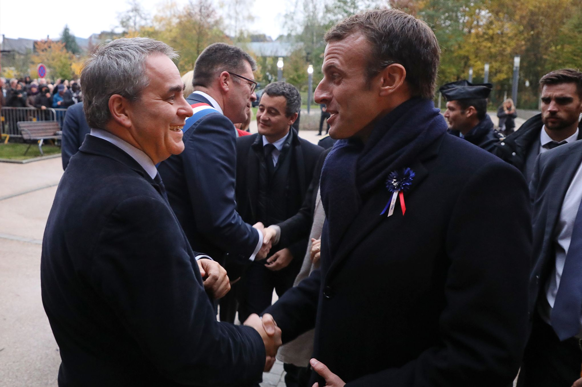 Calendrier Meeting Macron 2019.Grand Debat Hauts De France Bretagne Pays De Loire Corse