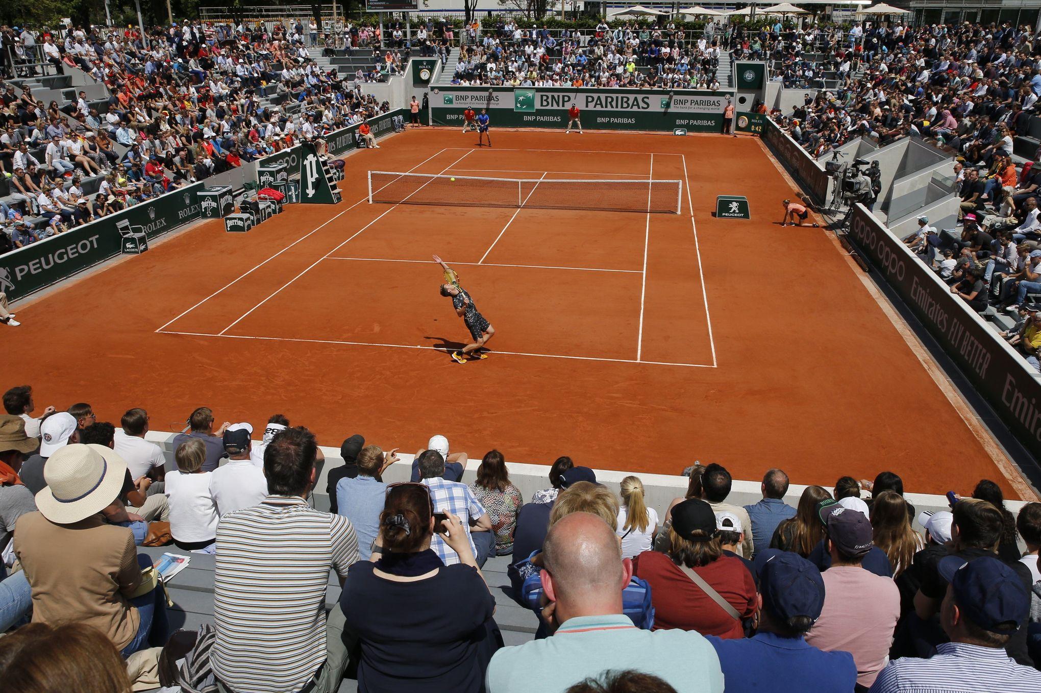 81ba3bbe7c Roland-Garros: pourquoi il faut parler de court de tennis plutôt que de  terrain