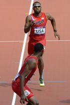Le sprinter semblait marqué en fin de course