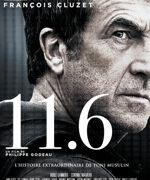François Cluzet apparaît presque hors-cadre sur l'affiche du film.