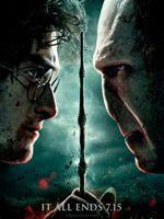 Affiche d'<i>Harry Potter et les reliques de la mort</i>.