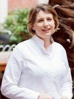 Stéphanie Le Quellec, chef du restaurant La Scène à l'Hôtel Prince de Galles (Paris VIIIe).