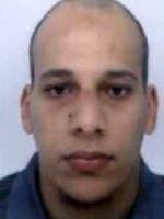 Le portrait de Chérif Kouachi diffusé jeudi par la police.